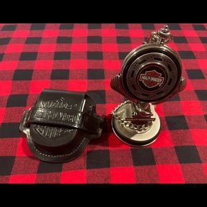 Harley Davidson Franklin Mint precision pocket watch 1998. Brand new condition.